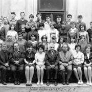 šk. rok 1966-67 9.B