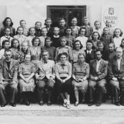 asi 1945, prestup z Hostacova