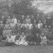 nejstarší fotografie, 1924 nebo 1925, první třída měšťanská